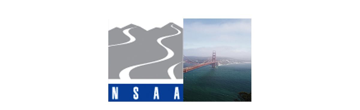 san francisco and nsaa logo