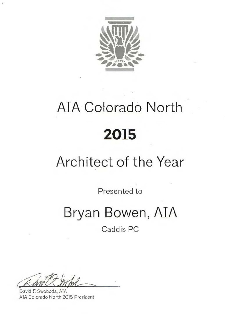 2015 AIA Architect of the Year